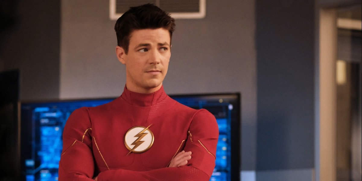 Grant Gustin as Barry Allen/The Flash in The Flash.
