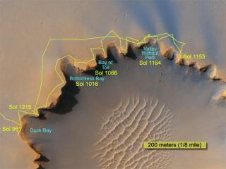 Risky Crater Descent Planned for Mars Rover