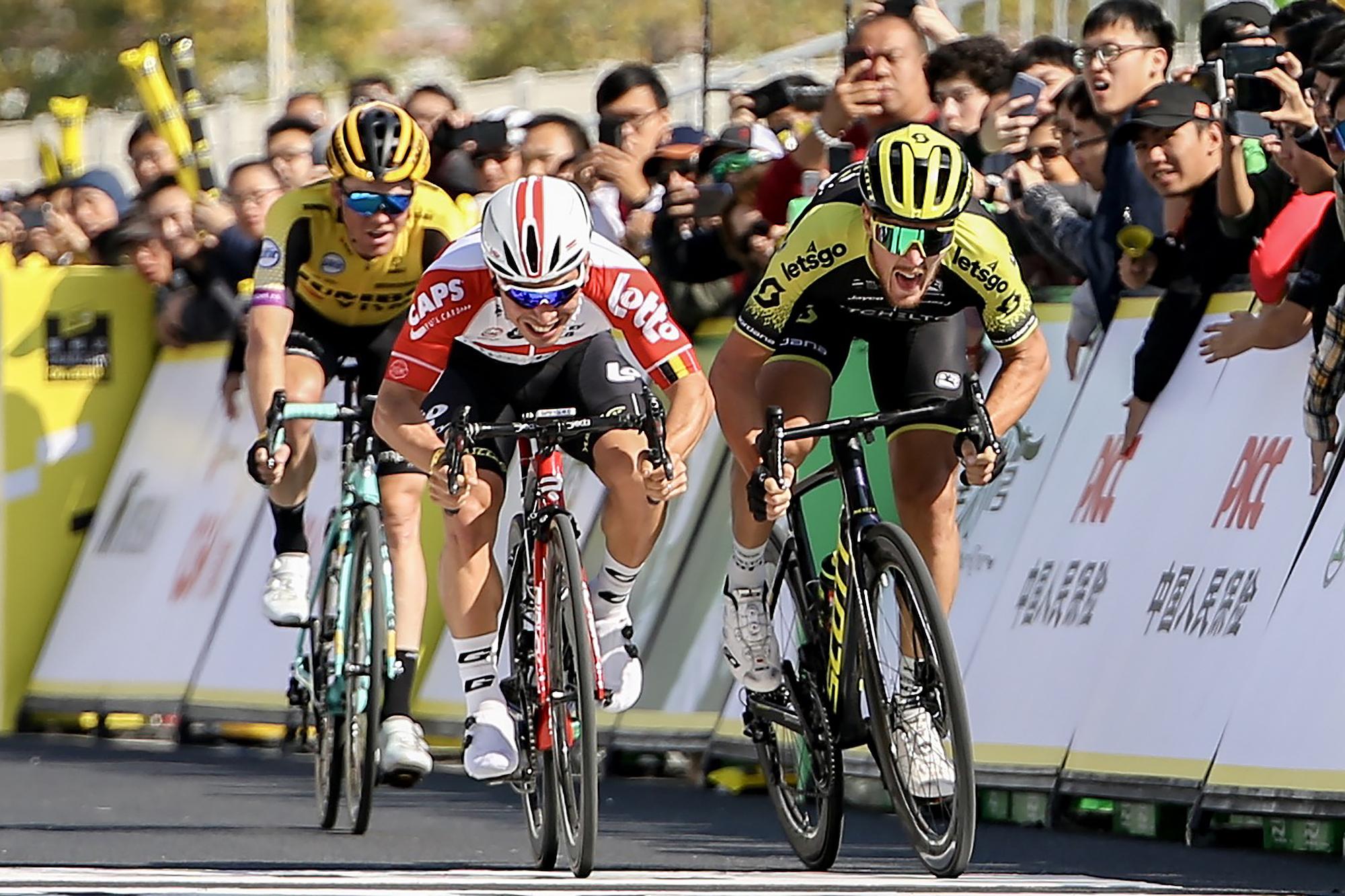 Caleb Ewan takes victory at Tour de France Shanghai Criterium