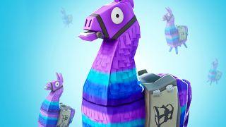 Fortnite llamas