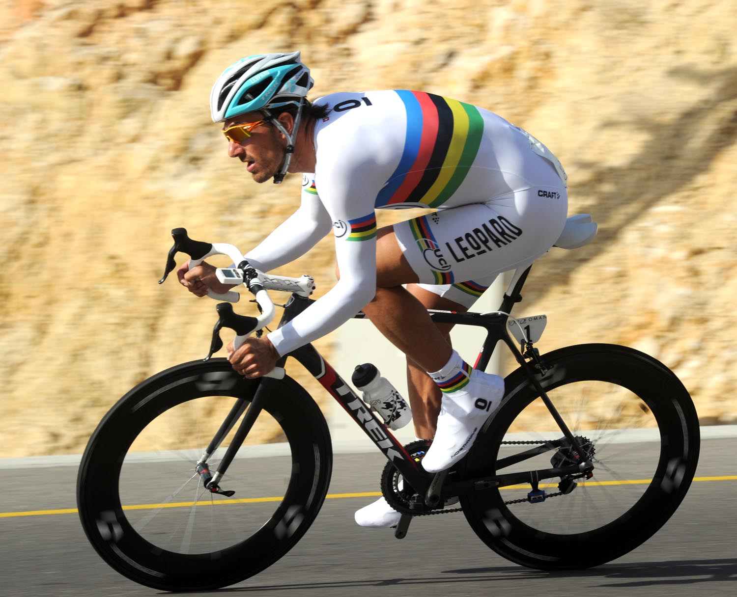 Fabian Cancellara, Tour of Oman 2011, stage five time trial