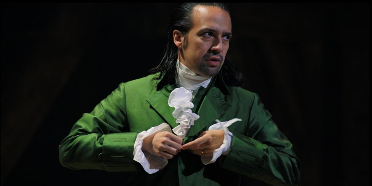 Lin-Manuel Miranda as Hamilton in Hamilton Non-Stop