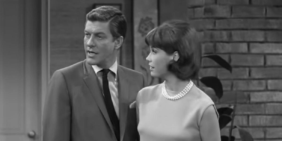 Dick Van Dyke and Mary Tyler Moore in The Dick Van Dyke Show