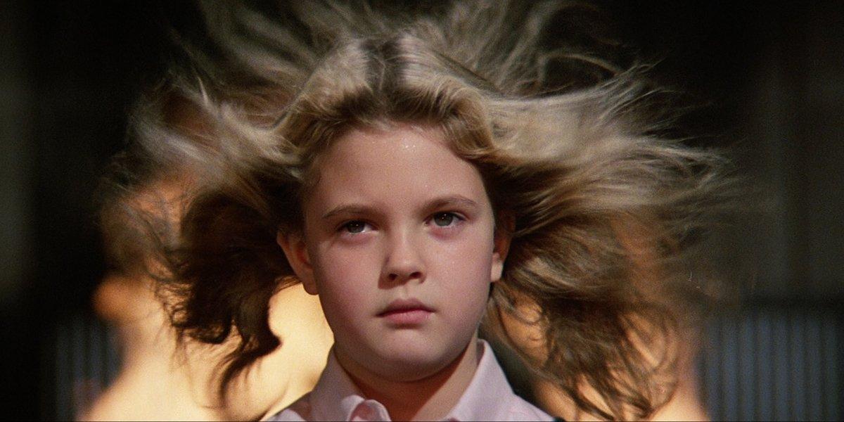 Drew Barrymore in Firestarter 1984