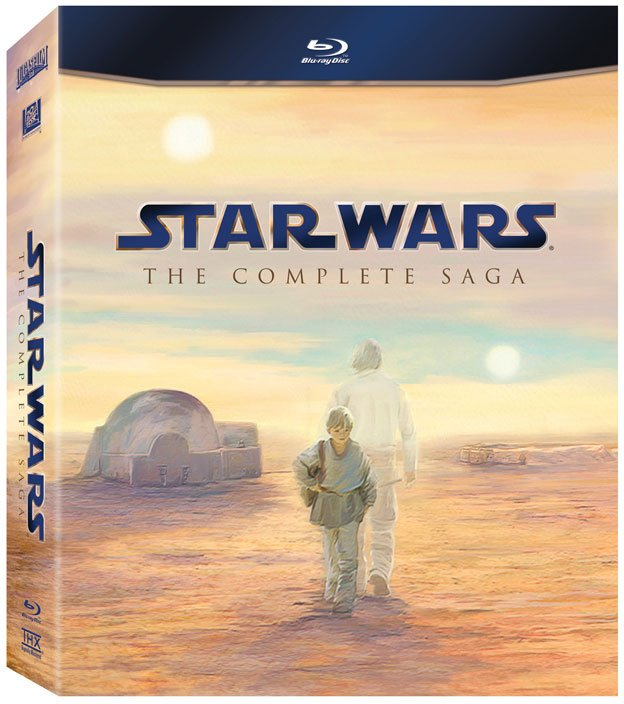 Star Wars Saga On Blu-Ray: Cover Art And Everything Else You Want To Know  #16982