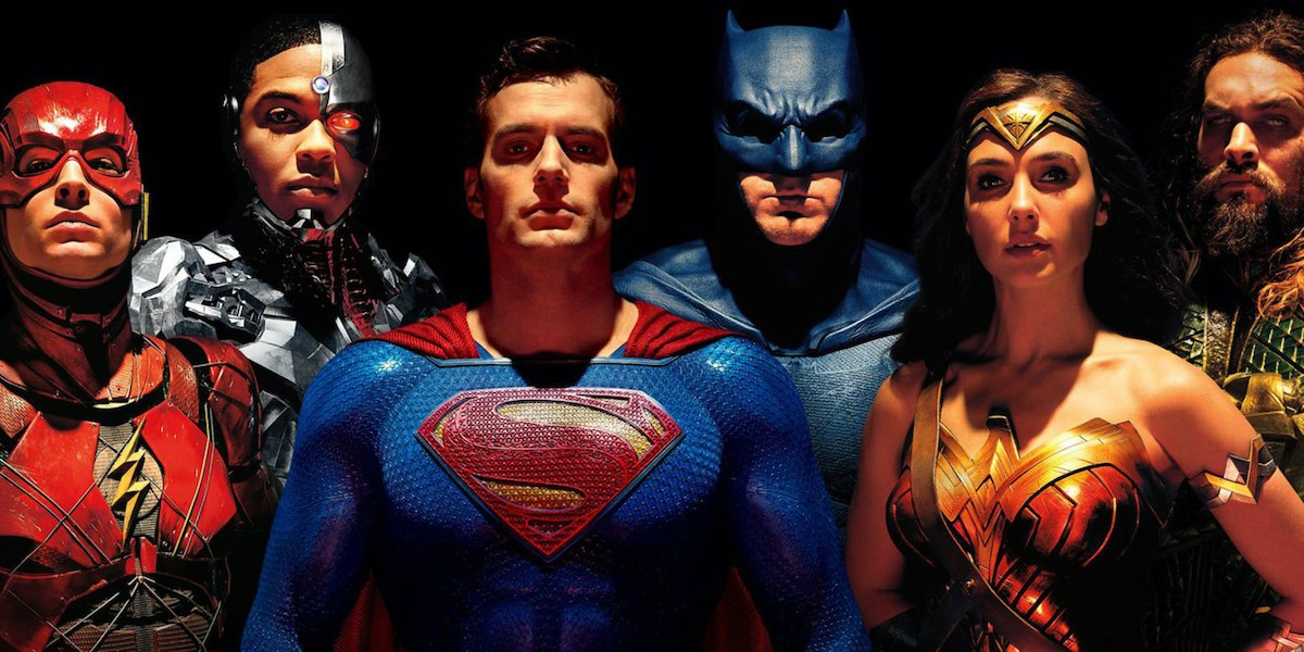 The Justice League members