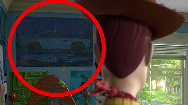 Pixar Easter Egg