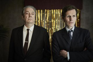 Roger Allam as DI Fred Thursday and Shaun Evans as Endeavour.