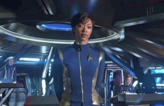 """Sonequa Martin-Green portrays the lead role of Michael Burnham in """"Star Trek: Discovery,"""" which premieres Sept. 24, 2017."""
