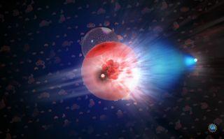neutrino illustration