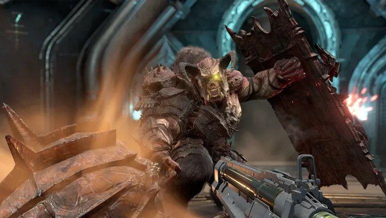 Doom Eternal Will Not Run At True 4k On Stadia Pc Gamer
