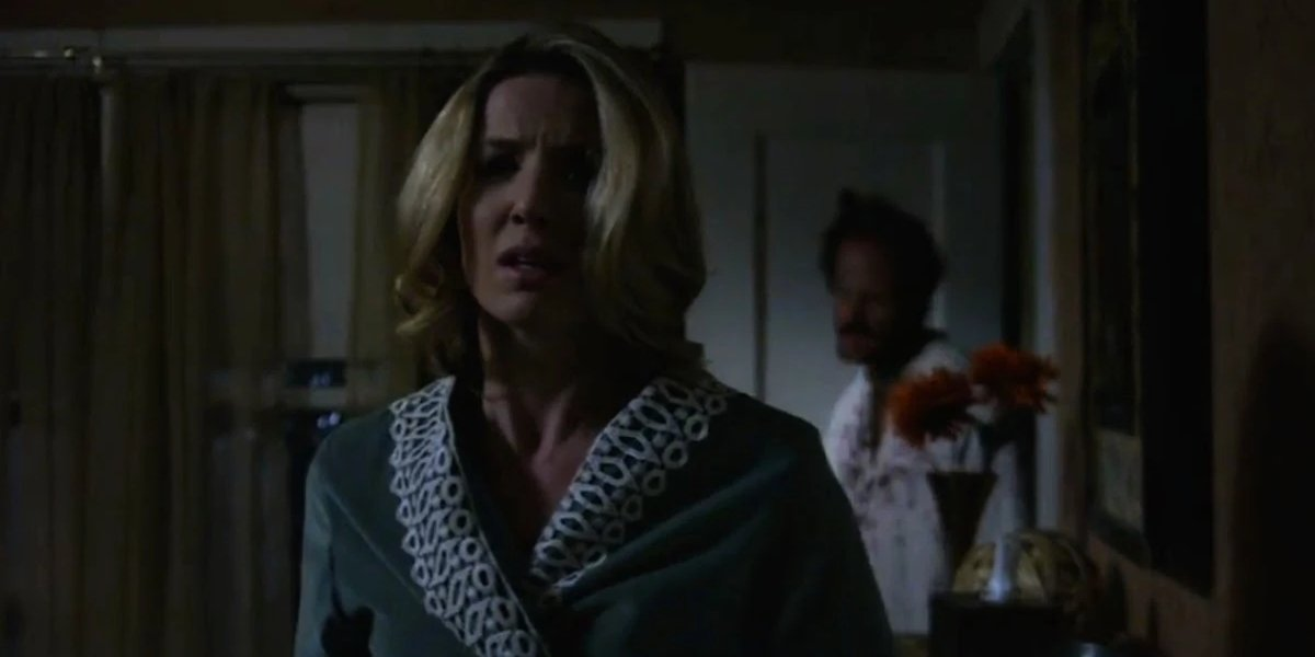 Annabelle Wallis stalked by a mysterious man in Annabelle