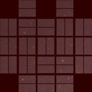 Kepler Space Telescope Test Image for Possible New Mission