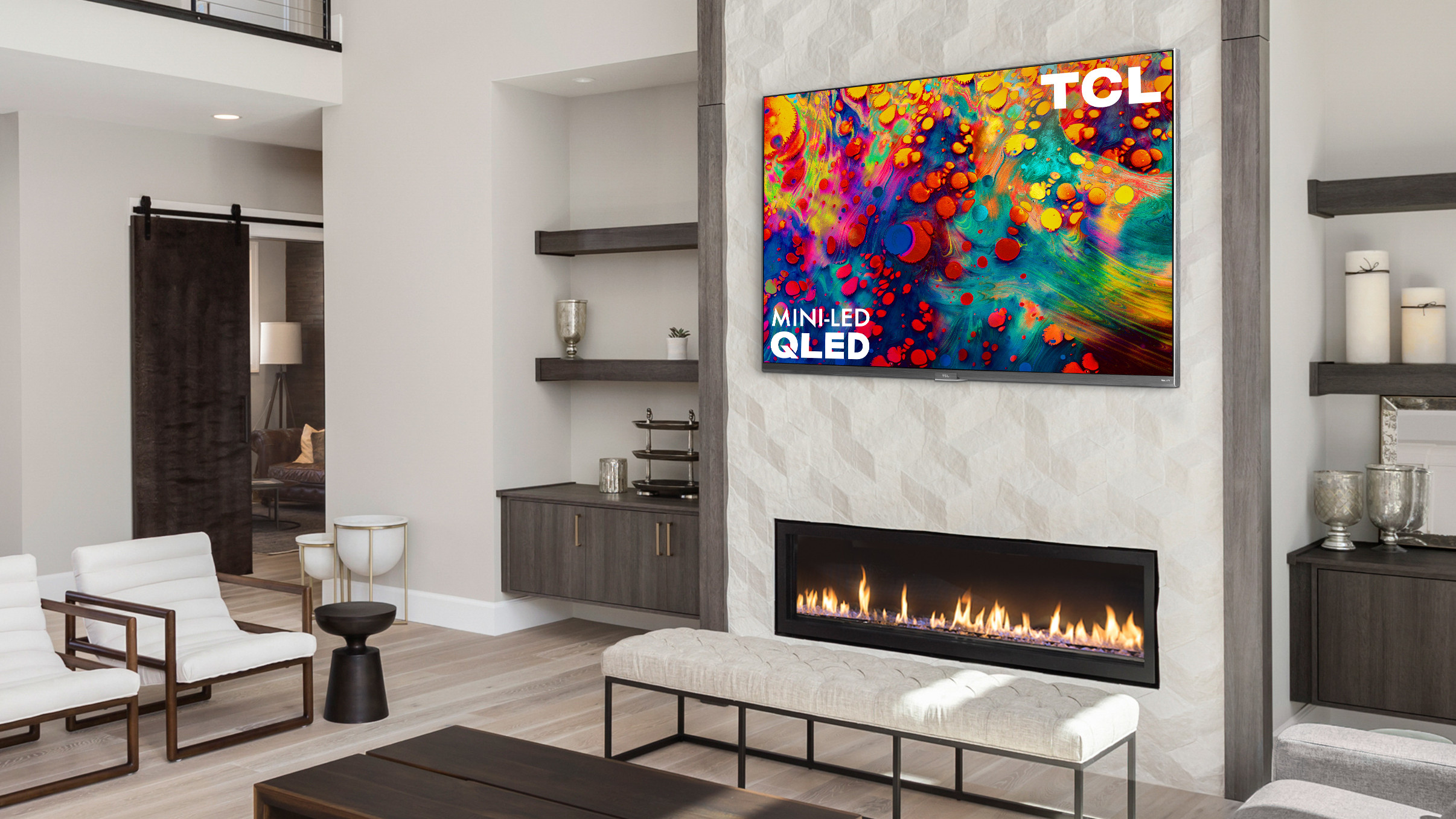 The TCL 6-Series isn't highly specified for gaming, but it is a big screen on the cheap.
