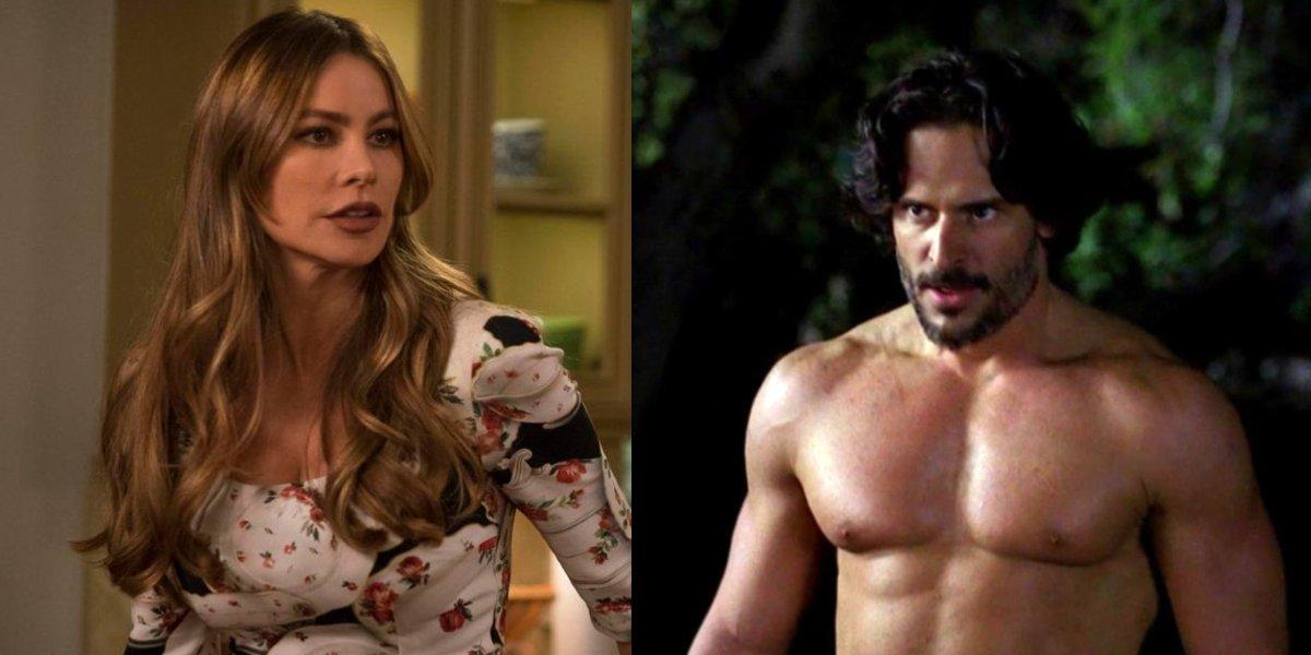Sophia Vergara in Modern Family; Joe Manganiello in True Blood