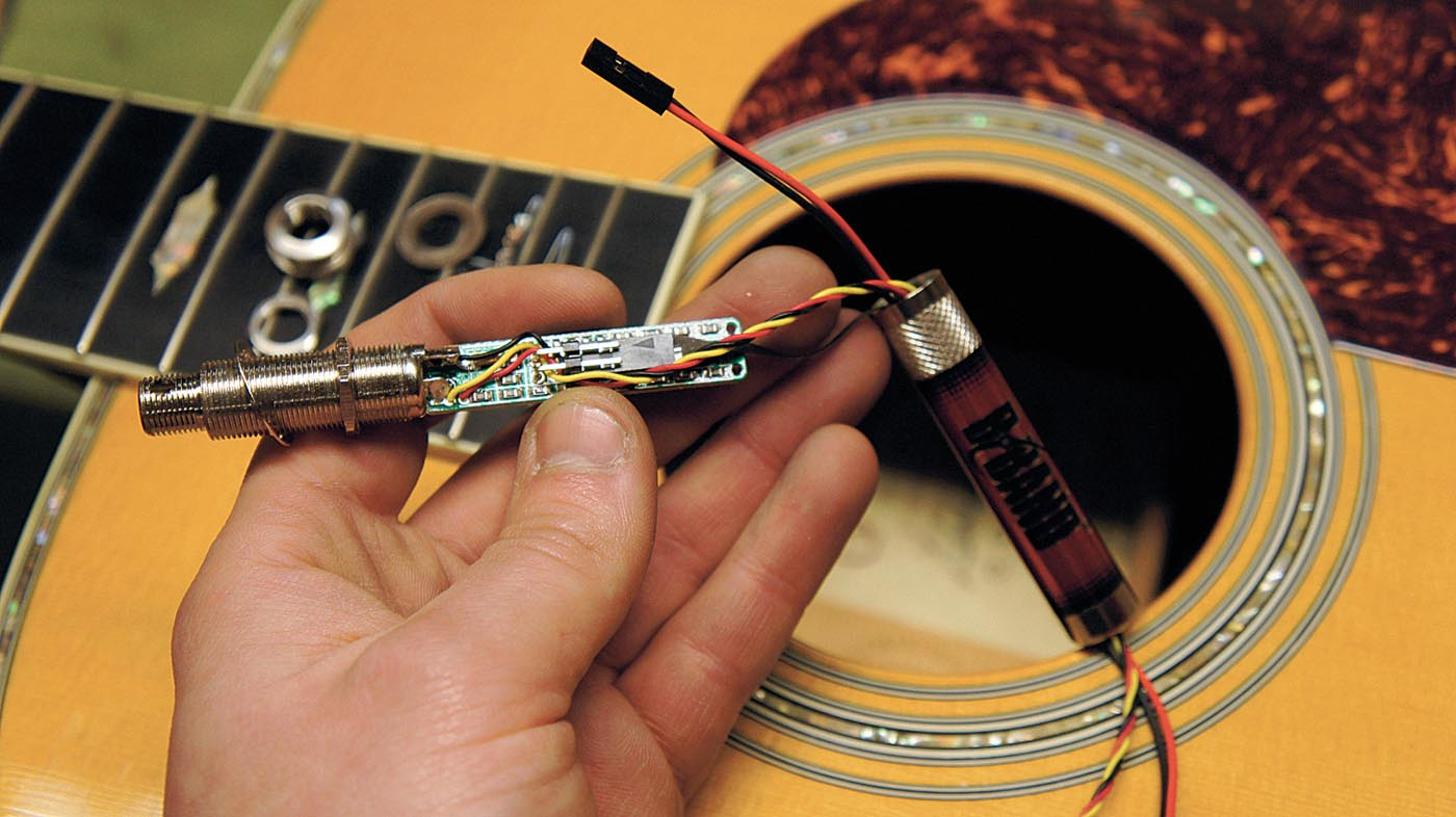 Guitar Modding How To Install An Acoustic Pickup Musicradar
