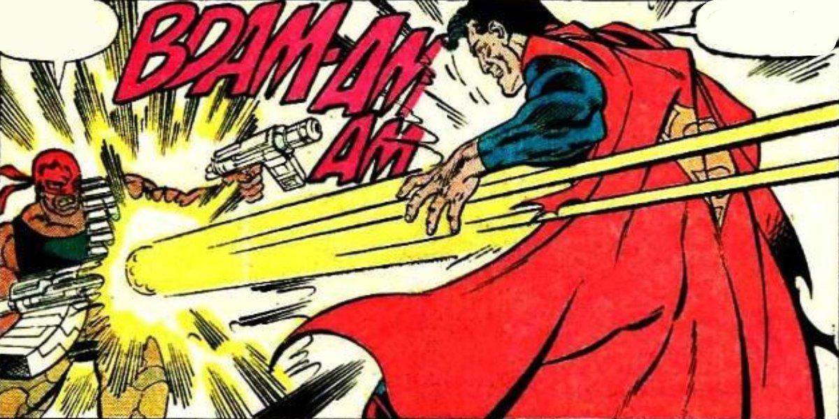 Bloodsport and Superman
