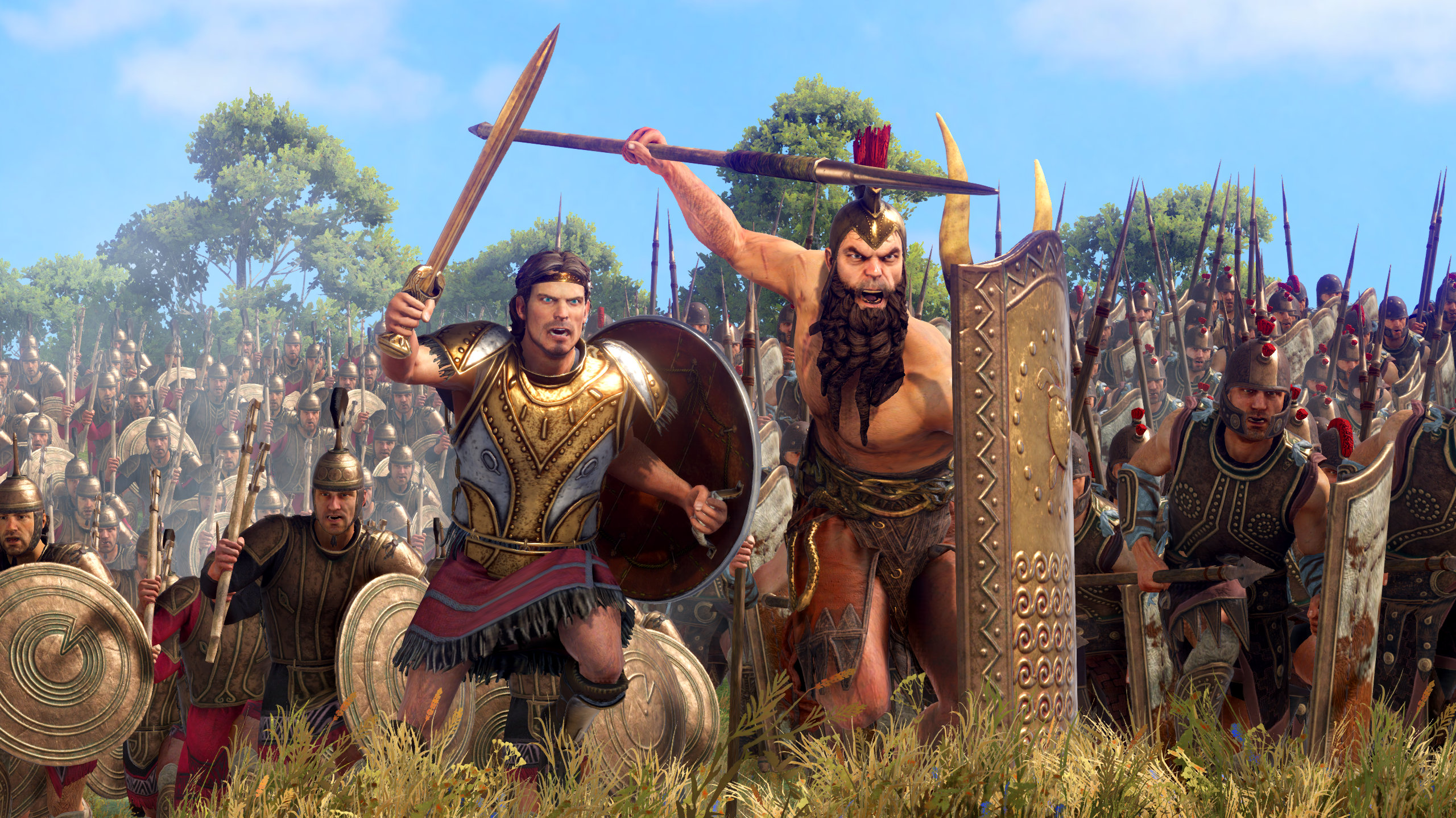 Best bros Ajax and Diomedes are coming to A Total War Saga: Troy