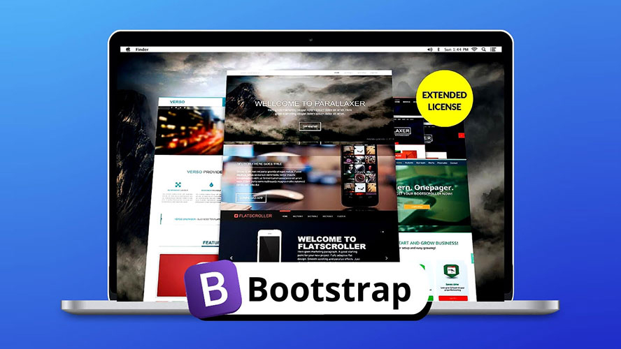 Create professional websites in a flash with Bootstrap