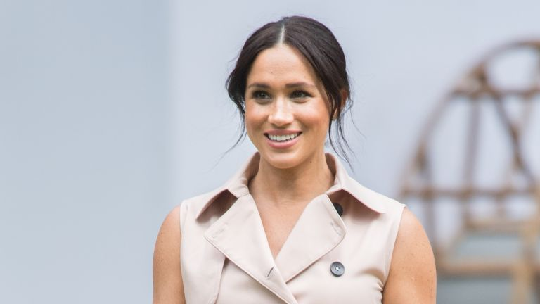 Meghan, Duchess of Sussex visits the British High Commissioner's residence to attend an afternoon reception to celebrate the UK and South Africa's important business and investment relationship, looking ahead to the Africa Investment Summit the UK will host in 2020