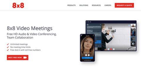 8x8 Video Meetings 1