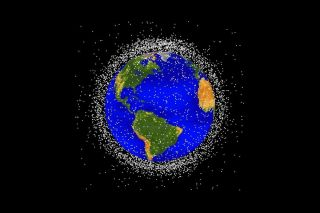 Twinkle, twinkle little…piece of orbital debris?