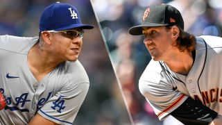 Kevin Gausman take the mounds in the Dodgers vs Giants live stream
