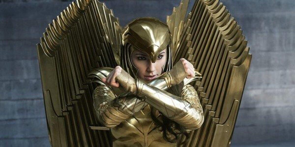 wonder woman 1984 diana gold armor