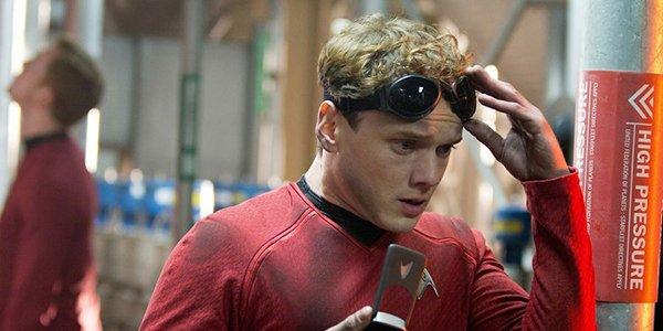 Anton Yelchin as Pavel Chekov in Star Trek Into Darkness