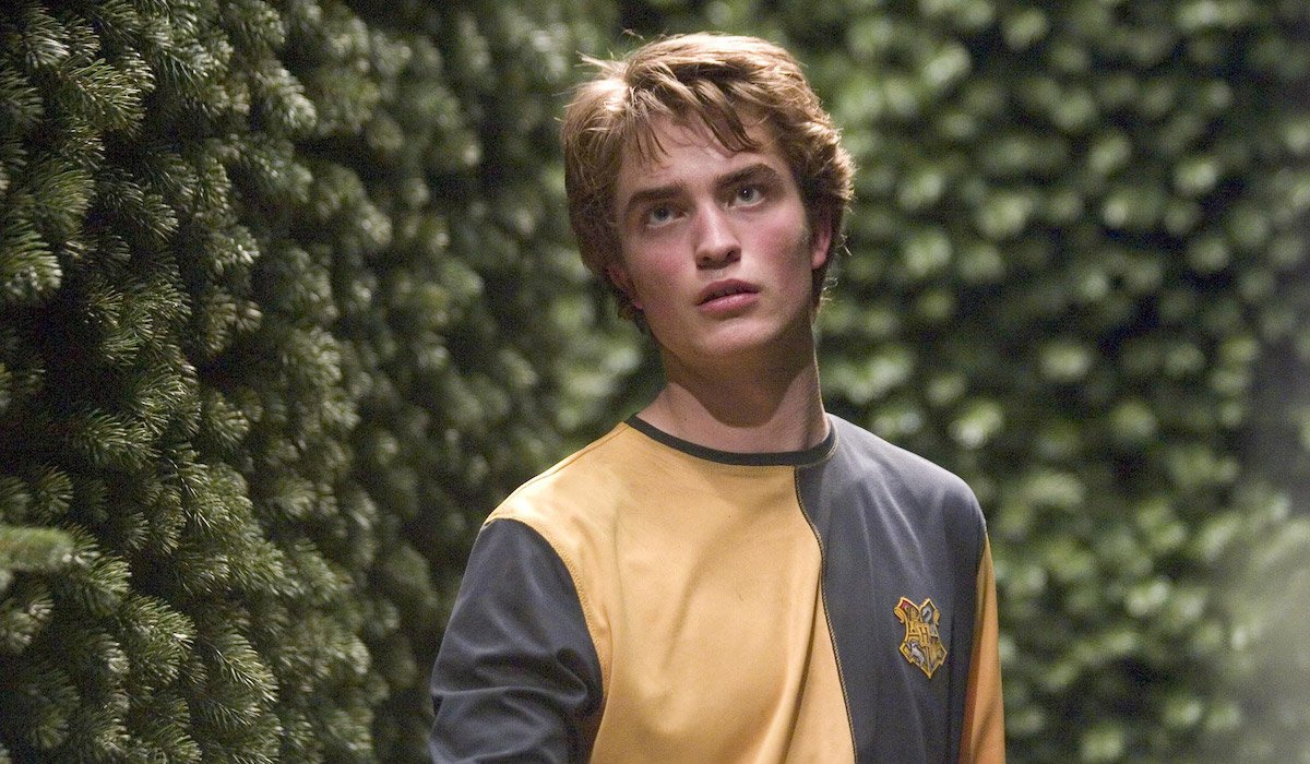 Robert Pattinson as Cedric Diggory in Harry Potter