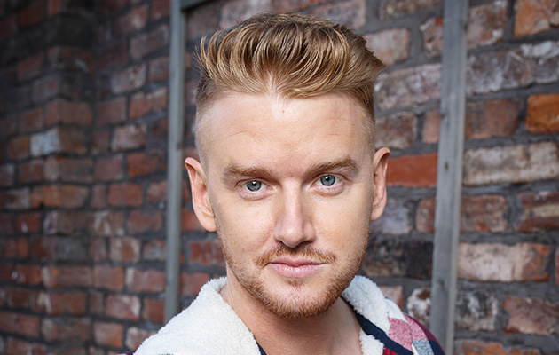 Coronation Street star Mikey North as Gary Windass