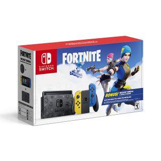 Cyber Monday Nintendo Switch Fortnite Edition, square