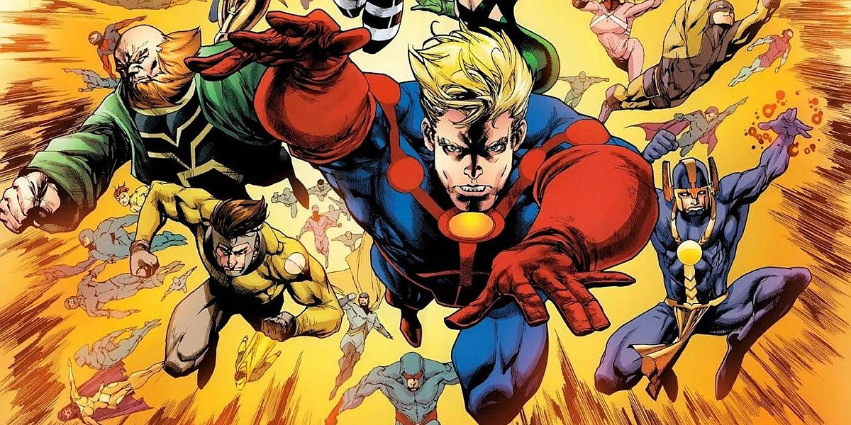 Eternals in the comics