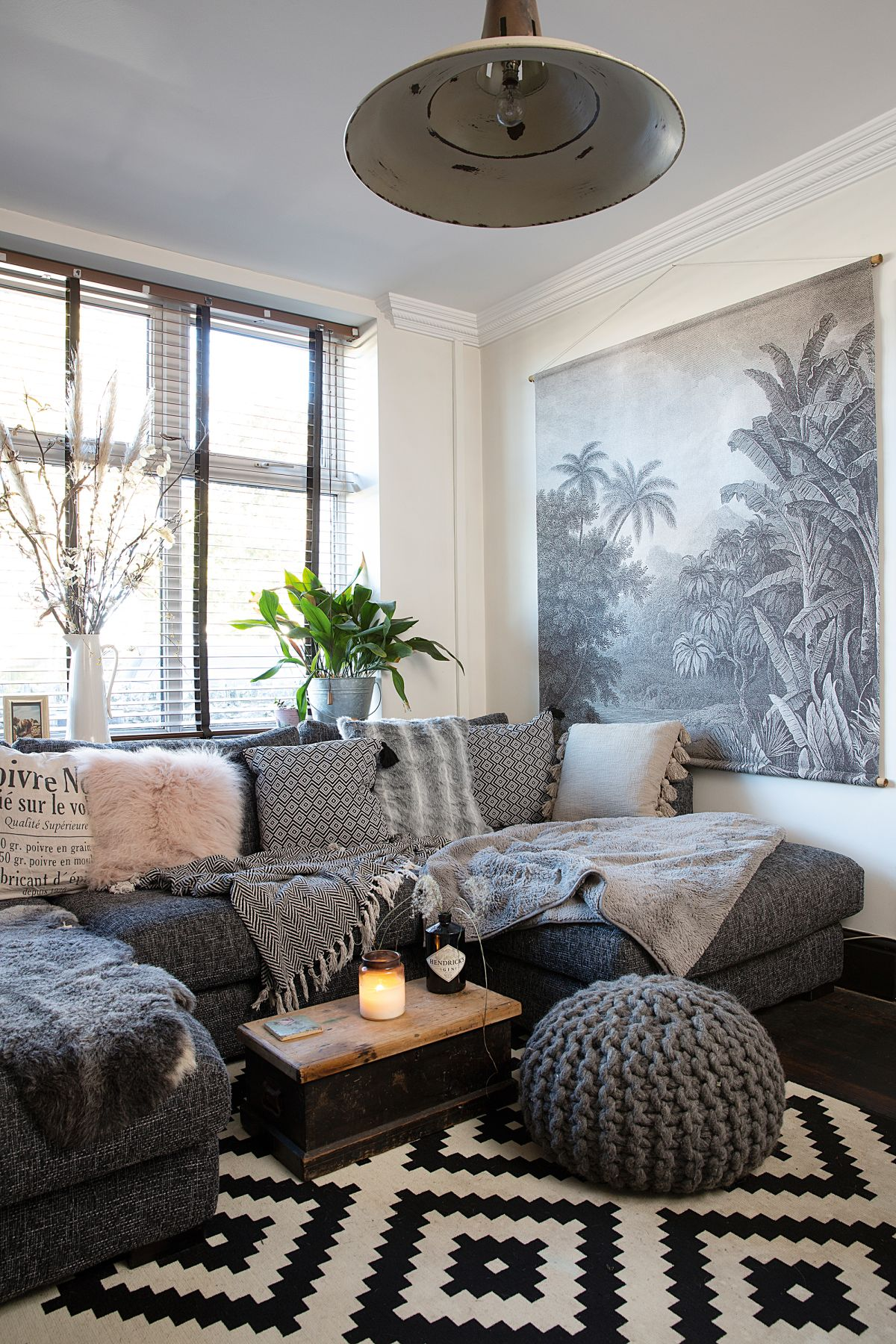 Grey Living Room Ideas 33 Ways To Use Pinterest S Favorite Color Real Homes