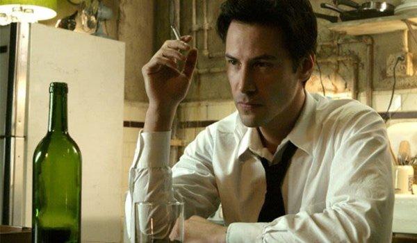 Keanu Reeves smoking John Constantine Constantine movie
