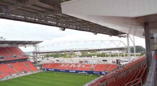 Soccer Stadium Scores With New Sound System