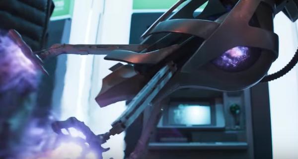 Chitauri enhanced weapon