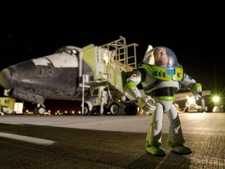 Buzz Lightyear to Get Ticker Tape Parade After Record Spaceflight