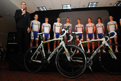 Team Raleigh launch, January 2010