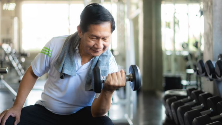 Dumbbell exercises boost testosterone