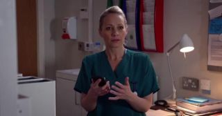 Kaye Wragg plays Essie Harrison in Holby City