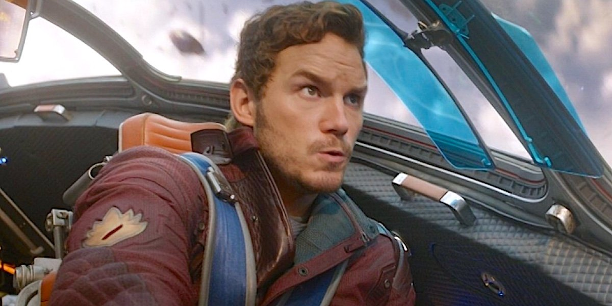 chris pratt star lord flying ship guardians of the galaxy