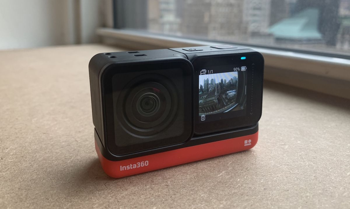 The Insta360 One R action camera is a modular GoPro killer