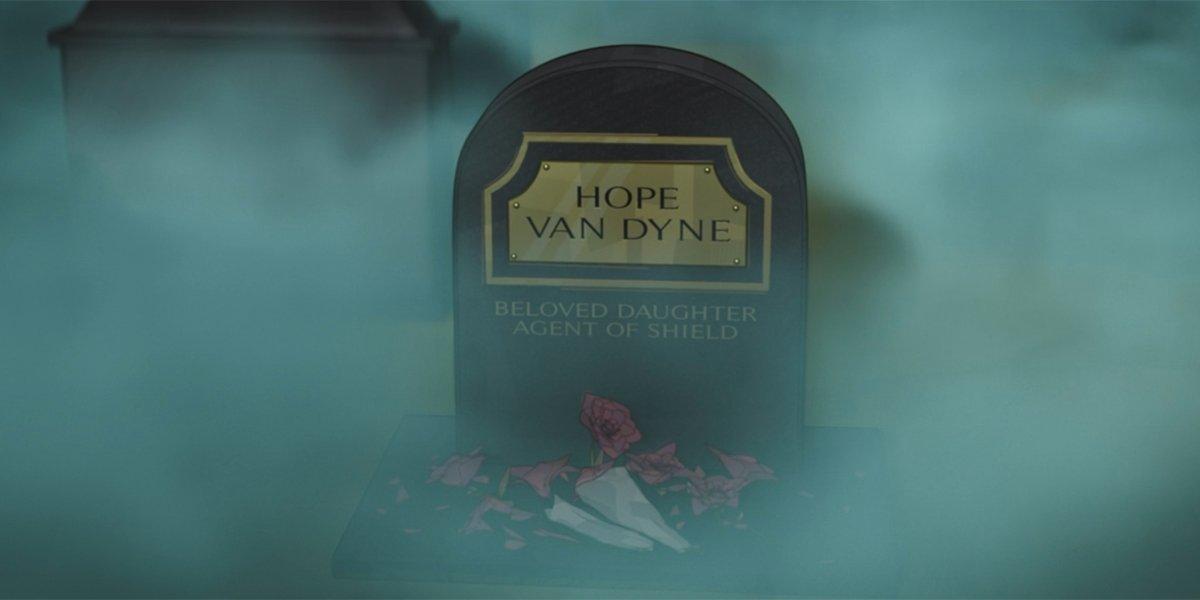 Hope Van Dyne grave What If