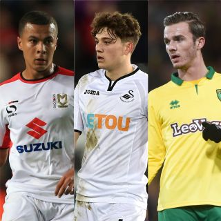 Dele Alli, Daniel James and James Maddison have made the moves up