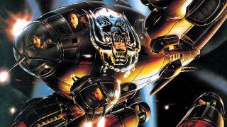 The artwork for Motörhead's Bomber album