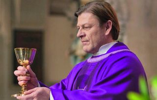 As the drama comes to an end, Father Michael (Sean Bean) faces a big decision in Broken
