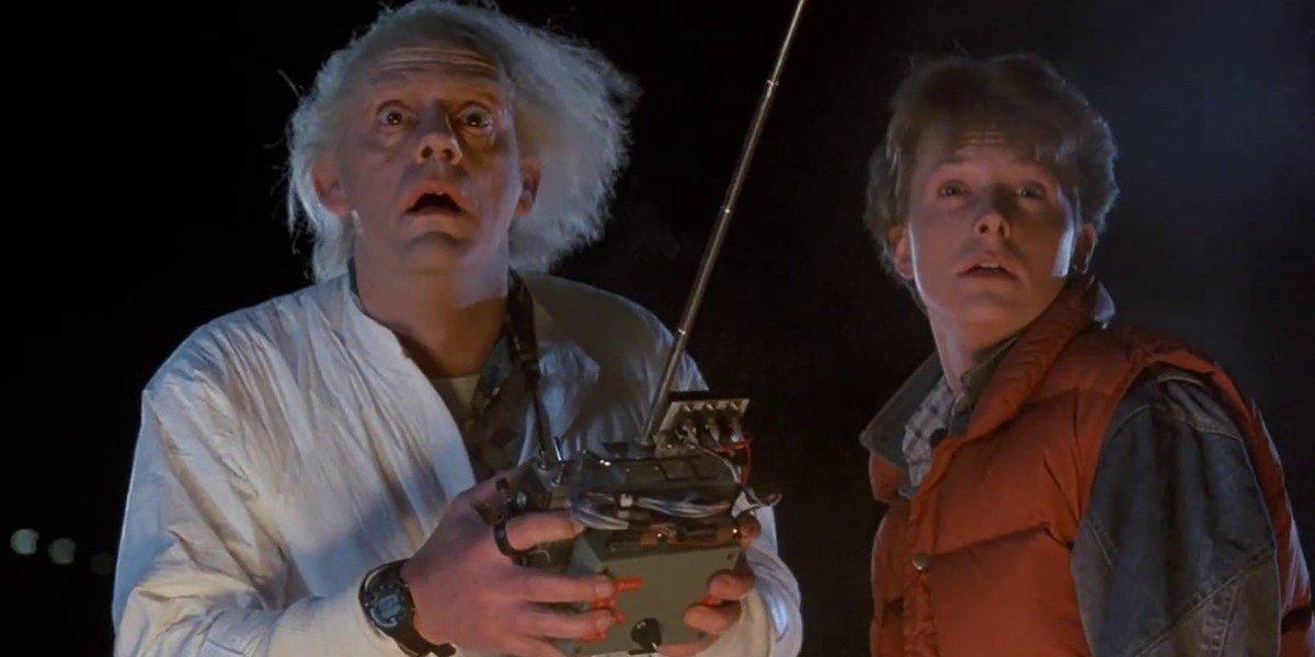Christopher Lloyd, Michael J. Fox - Back To The Future