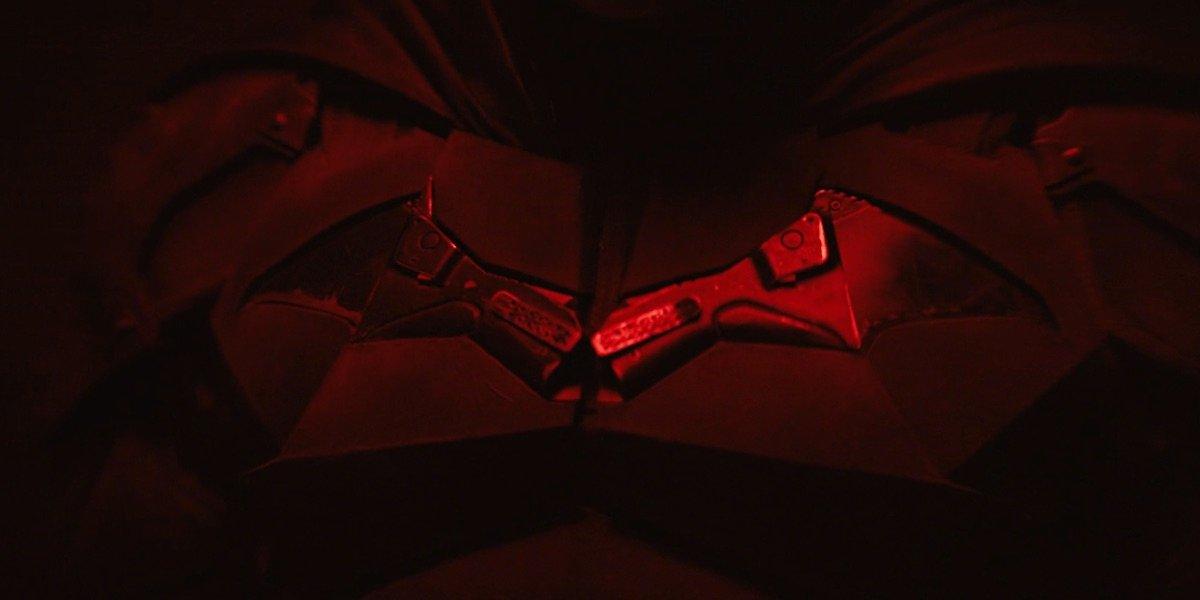 The Batman insignia screen test