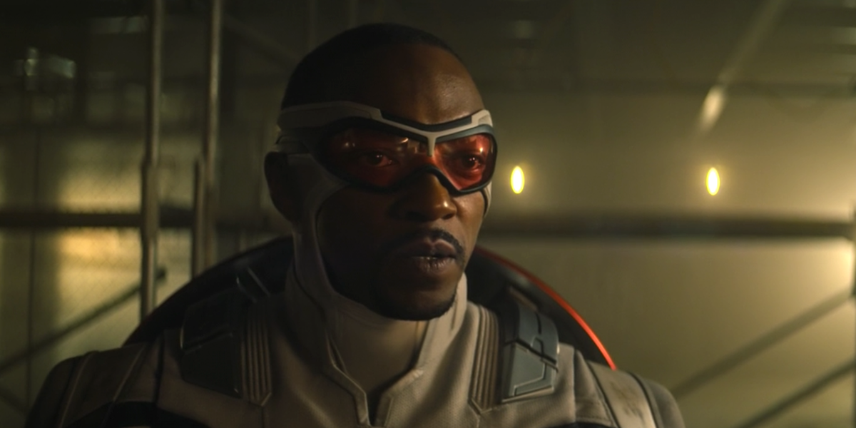 Anthony Mackie in The Falcon and the Winter Soldier finale